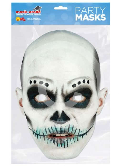 Day of the Dead Card Mask Walking Dead halloween Zombie Party Favour